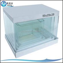 Custom Fish Tanks 5mm Thickness Glass Mini Aquarium Fish Tank