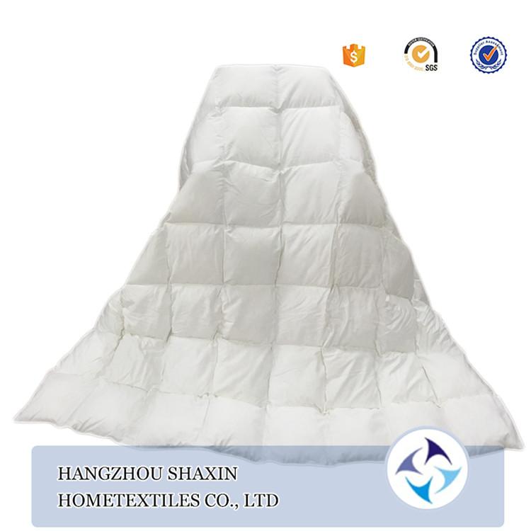 Thương mại đảm bảo comforter đông lạnh lông ngỗng duvet