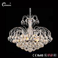 2015 modern simplicity led chandeliers,elegant bedroom led crystal chandeliers,warm kitchen led crystal chandeliers
