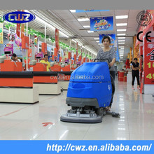 Supermarket use portable hand held electric floor scrubber with reasonable price