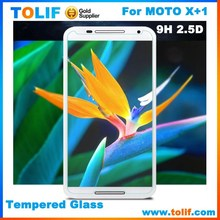 China supplier factory price high clear tempered glass screen protector manufacturer for motorola moto X+1