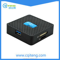 Super Speed Square Card Reader for SD/SDXC/MS/CF Cards All In One Card Reader