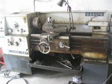used mini lathe machine C6136 750mm