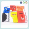 new products PP cover mini spiral notebook with ballpen/wirebound notebook with ballpen