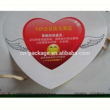 Papel de encargo brillantes etiqueta adhesiva para expresa caja