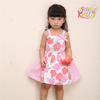 fancy dress toddlers baby girls' OEM clothes, girls smocked bishop dresses
