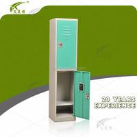 Optional color 2 door metal bench lockers