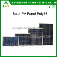 China poly high efficiency stock 250W cheapest solar panels