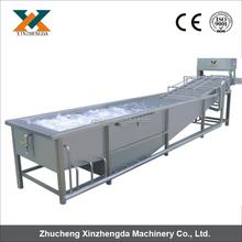 Food processing machine/Popular Water saving air bubble vegetable&fruit washer machine 0086+15202132239