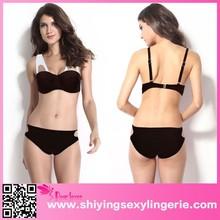 China Wholesale White Brown Molded Bikini Swimsuit girl sexy image