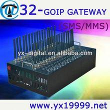 GPRS bulk sms modem 32 port tc35 gsm modem small gsm modem
