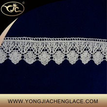 Small embroidery flower cotton lace trim for apparel/curtain/furniture/bed sheet (YJC15150)