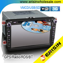 "Erisin ES8405V 8"" Touch Screen Car DVD Player for Scirocco Polo V 6R"