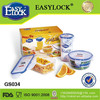 Easylock food grade clear with lids walmarts lunch box set