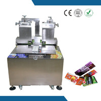 KD-H200 Hot melt glue cheese box wrapping machine