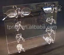 2015 new design Acrylic 5 tier nail polish display shelf