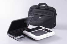 Clear acrylic laptop stand foldable laptop table