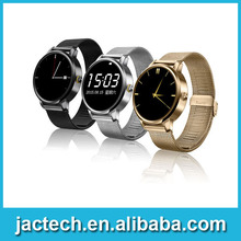 Luxury Fashion Metal Bluetooth Smart Watch V360 Sport wristwatch for iphone 6s