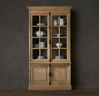 antique european style reclaimed wood rustic cabinet