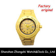 Wholesale Wooden Material Bewell Branded Watches For Girls