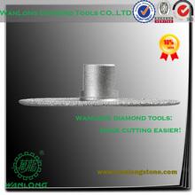 high efficiency vacuum brazed 4 inch diamond cutting wheel for stone grinding,small diamond grinding wheel manufacturer