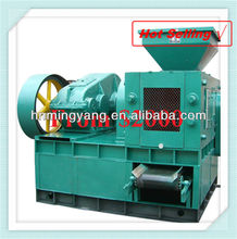 Double press pillow type coal/charcoal briquette making machine with CE 0086-15093222893