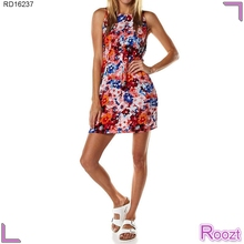 Elegantes cortos simples patrones para vestidos de verano barato Recortable Vestidos