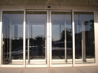 Ship ONTIME Aluminum Sliding Doors and Windows, Windows and Doors with Tempered Glass