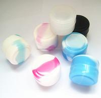 wholesale FDA approved food grade 2ml non stick mini wax dab bho butane hash oil silicone container