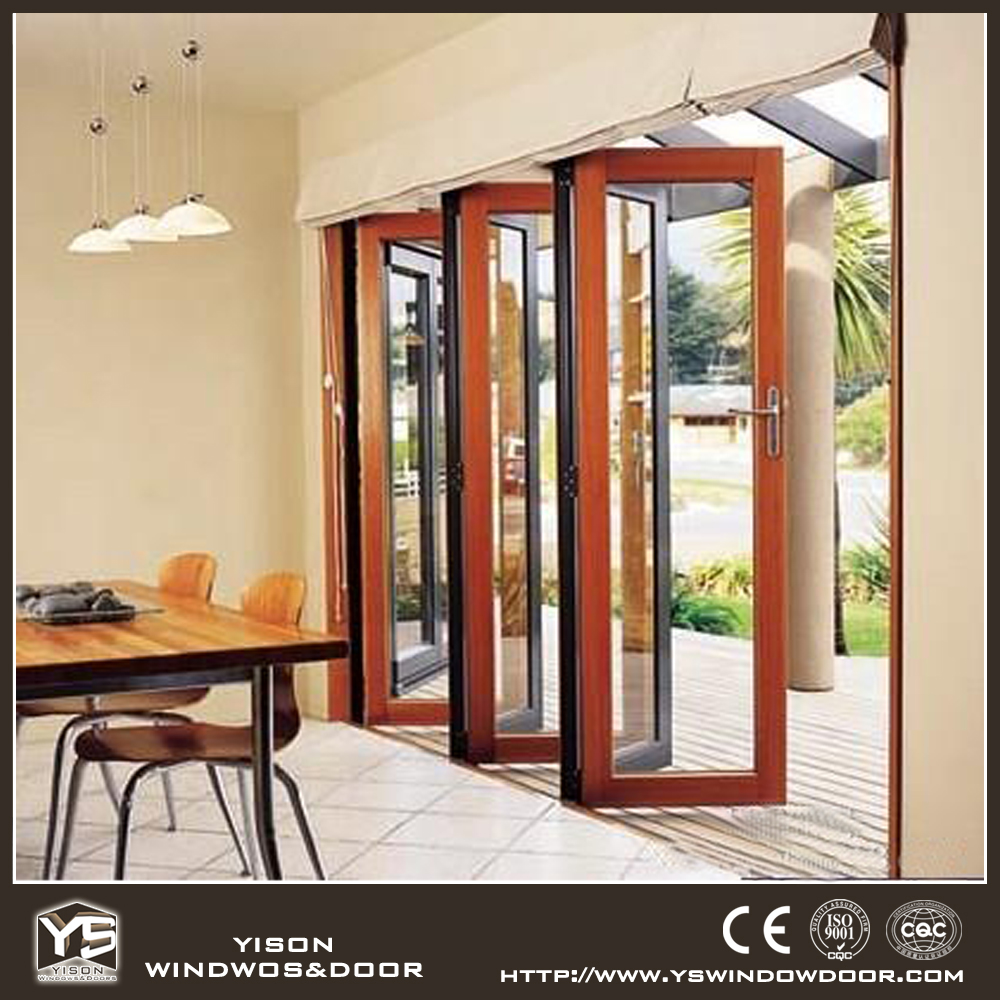Aluminium patio glass door bifold door buy high quality for Quality patio doors