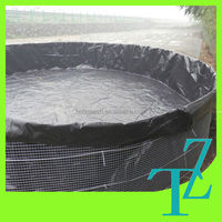 high quality HDPE geomembrane plastic sheet for shrimp pond liner