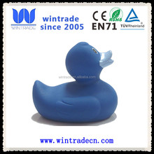 10cm blue/black/red/grey/yellow/green floating rubber bath duck