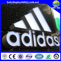 Customized LED epoxy resin front-lit advertising signs