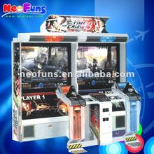 Click Me! Hottest Time Crisis 4 Shooting Game Machine / Shooting Games