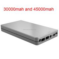 2015 Unique mobile usb portable power bank 30000mah charger 45000mah