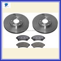 CNC machined auto brake discs