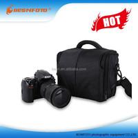 Medium Waterproof DSLR SLR Camera Bag Digital Cam Carry Case with Rain Cover