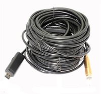 lenght 10/15/20/30 meter Copper head diameter 14MM usb borescope endoscope inspection snake camera