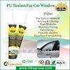 Auto window black polyurethane sealant