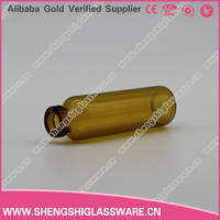 10ml amber penicillin Glass Bottle for Pharmaceutical with Rubber plug