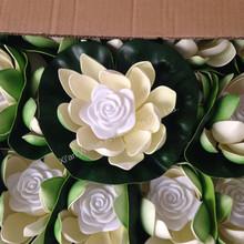 Decorative fake lotus flower lantern