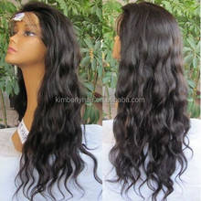 Wholesale Price Top Grade Brazilian two tone Full Lace Wig, 100% Water Wave Human Hair Full Lace Wig