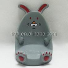 plastic rabbit handset seat, mobile phone holder