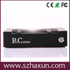 Mini pc atom hdmi D2700 2.13GHz, 5*RS232,COM industrial pc nvidia GT520 ION3 1GHz, wall mount fanless nettop 8V~28V
