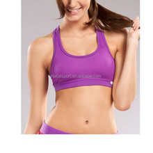 Trustworth China Dri Fit Custom Wholesale Women Yoga wear Sex Race Back Sports bra For Girls