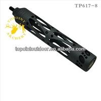 """Topoint Archery,Archery stabilizer,TP617-8-CARBON,CNC machined,8"""",6.5 oz,carbon version"""