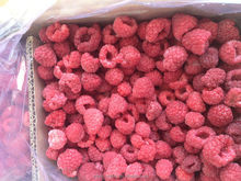 Sufficient raw material Frozen Raspberry can mixed with other berry