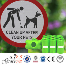 [Grace Pet] eco-friendly material stocked dog waste bag dispenser