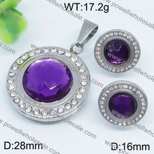 China Supplier Hot Crystal connected jewelry sets