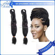 expression synthetic braiding hair , expression hair attachment